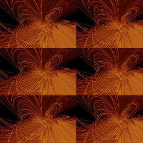 Graphic Lines in Orange
