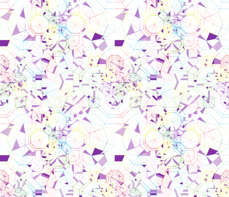 Origami_Colourful_Blur_Purple_Segments_V1 fabric by candyjoyce on Spoonflower - custom fabric
