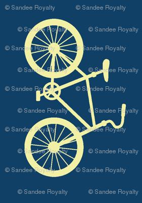 Joy Ride! bike navy cream