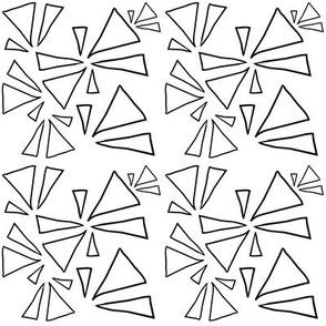 Open Black Triangles