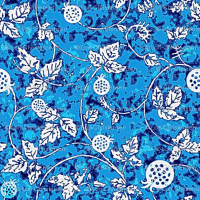 blueberry batik
