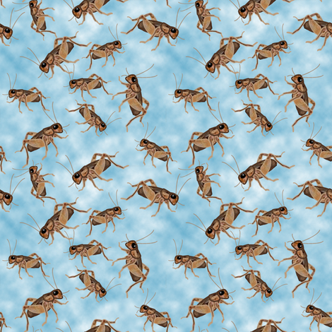 Cricket Party fabric by nezumiworld on Spoonflower - custom fabric