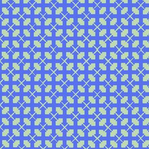 Hampton Golf- Cross Pattern (green)