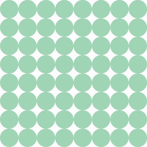 Teal Dot fabric by noochesfabric on Spoonflower - custom fabric