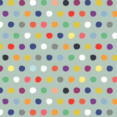 multi spot vacation fabric by scrummy on Spoonflower - custom fabric