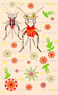 ditsy cricket conga