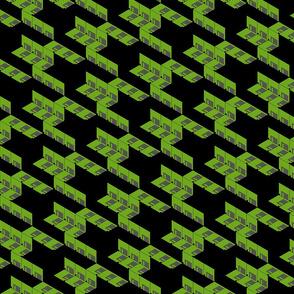 Floppytooth in Green