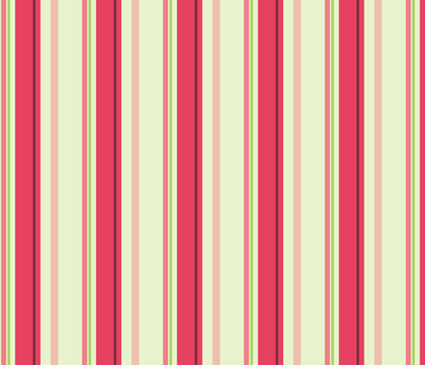 A rose is a rose - Stripe fabric by studiofibonacci on Spoonflower - custom fabric
