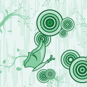 Swirly Butterfly (Green)