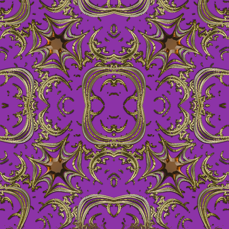 Fake Gold and Topaz Maltese Cross fabric by eclectic_house on Spoonflower - custom fabric