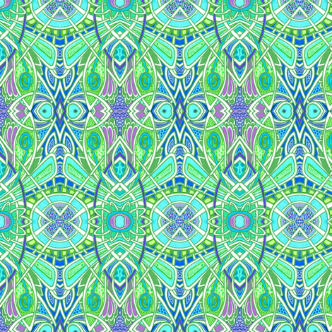 Deco On the Fly fabric by edsel2084 on Spoonflower - custom fabric