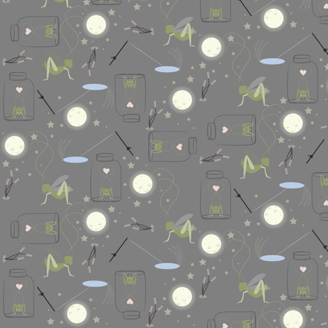 cricket fabric by tarabehlers on Spoonflower - custom fabric