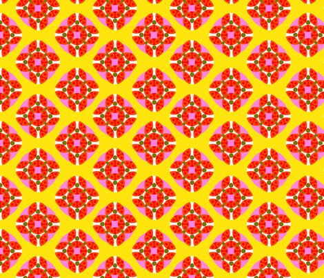 Art Deco Circles fabric by vinpauld on Spoonflower - custom fabric