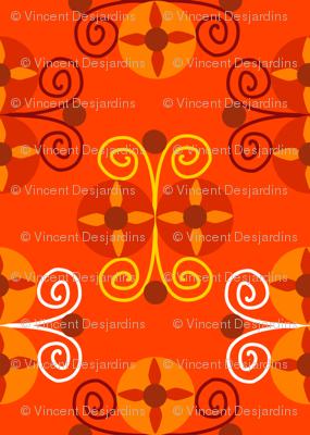 Art Deco Circles and Spirals 2