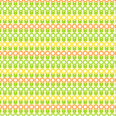 Citrus Blossom fabric by holladaydesigns on Spoonflower - custom fabric