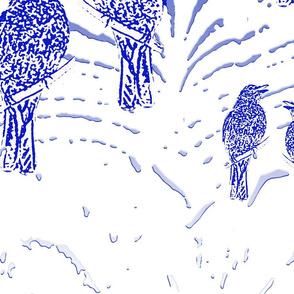 Bluebird dreaming