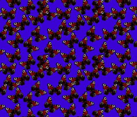 Inachis io fabric by joancaronil on Spoonflower - custom fabric