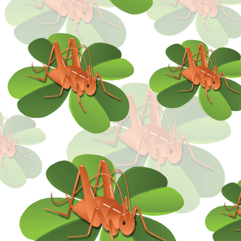 Spoonflower_Cricket_Design fabric by danine on Spoonflower - custom fabric