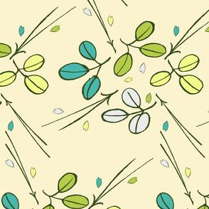 Fresh spring pattern