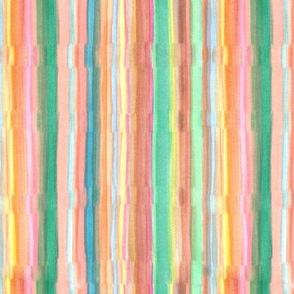 Watercolour Stripes