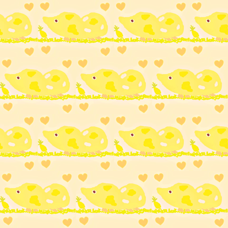 Lollipop fabric by winterblossom on Spoonflower - custom fabric