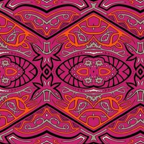 TAIFO 3a - pink, orange, grey