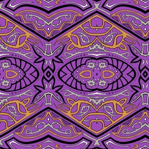 TAIFO 3a - violet, gold, grey