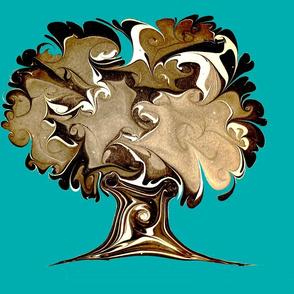English oak turqois