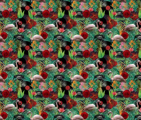 rockabilly mix grunge fabric by kociara on Spoonflower - custom fabric