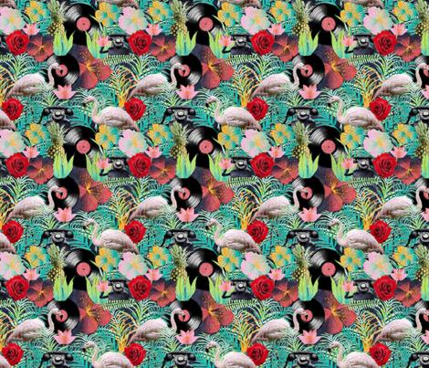 rockabilly mix fabric by kociara on Spoonflower - custom fabric