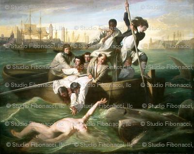 Watson and the Shark - John Singleton Copley  (1778)