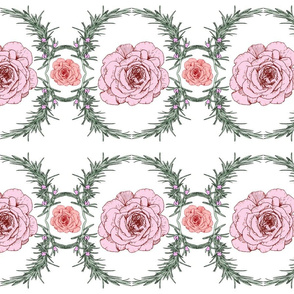 Rosemary and Roses