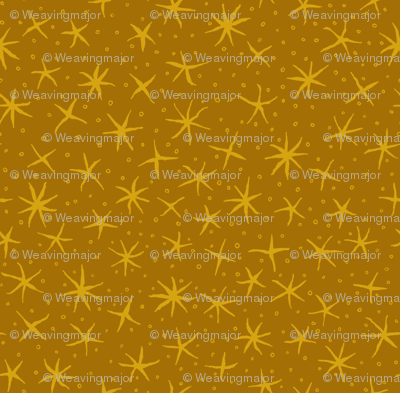 stellate whimsy - dark golden aspen