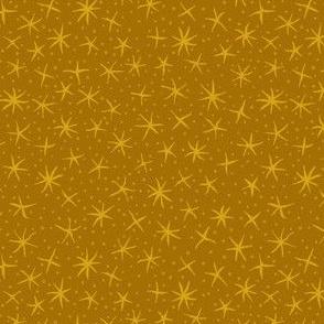 stellate whimsy - dark golden aspen