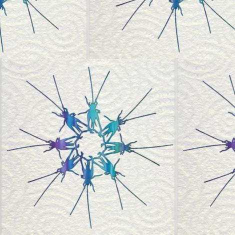 Ditzy_Crickets fabric by twilfley on Spoonflower - custom fabric