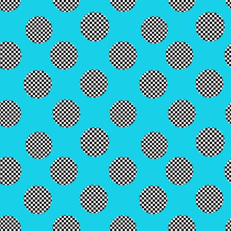 black and white polka dots fabric by karenharveycox on Spoonflower - custom fabric