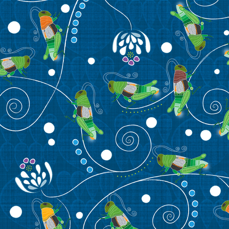 Turn on the light! fabric by liluna on Spoonflower - custom fabric