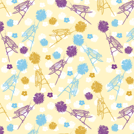 Spoonflower_-_Disty_Cricket_Comp_350DPI_16-07-2013 fabric by theinkytree on Spoonflower - custom fabric