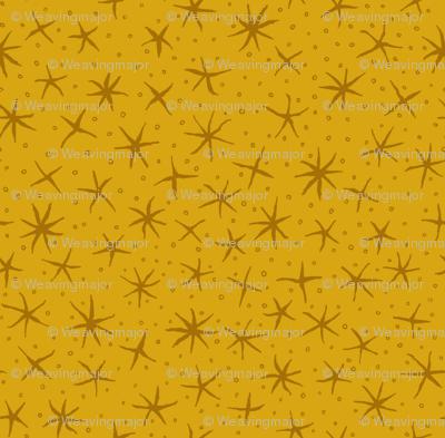 stellate whimsy - honey gold