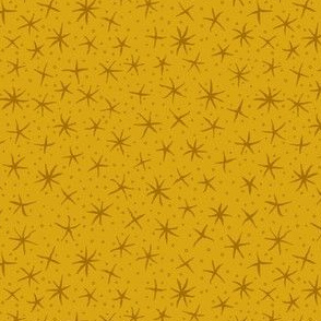 stellate whimsy - honey gold