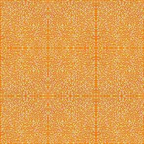 Orange ditsy crickets