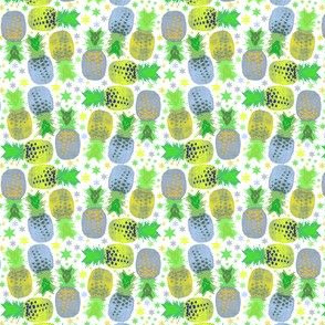 Lots of pineapples