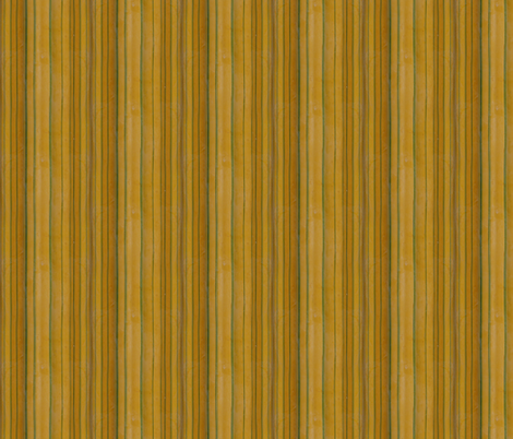 Bamboo: Yellow Stripes fabric by will_la_puerta on Spoonflower - custom fabric