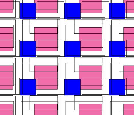 Retro Cubicles fabric by egprestonhouse on Spoonflower - custom fabric