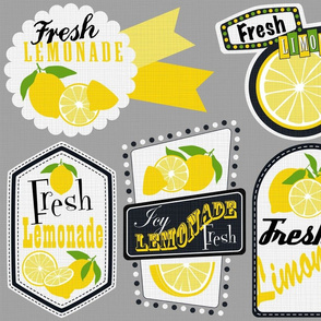 Julie's Lemonade Labels