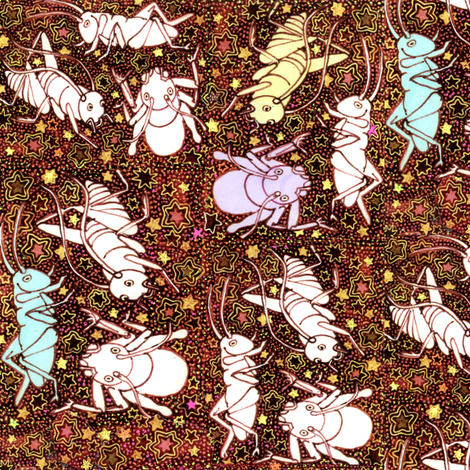 Big Bad Bugs fabric by edsel2084 on Spoonflower - custom fabric