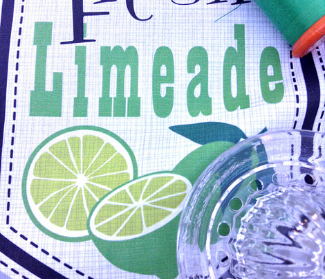 Julie's Limeade Labels
