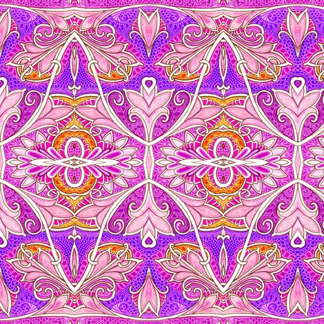 La Belle Curve fabric by edsel2084 on Spoonflower - custom fabric