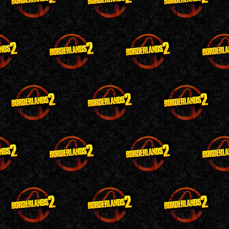 Borderlands' Polka fabric by the_little_one on Spoonflower - custom fabric