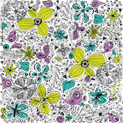Doddle flowers